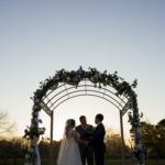 Sunset Ceremony at the Beautiful Kemah Gardens